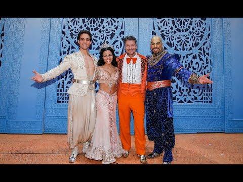 Disneys ALADDIN - Hardy Krüger jnr. als Gast auf der Musical-Bühne