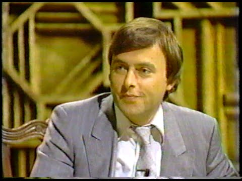 Christopher Hitchens - Earliest Known TV Appearance - 1983