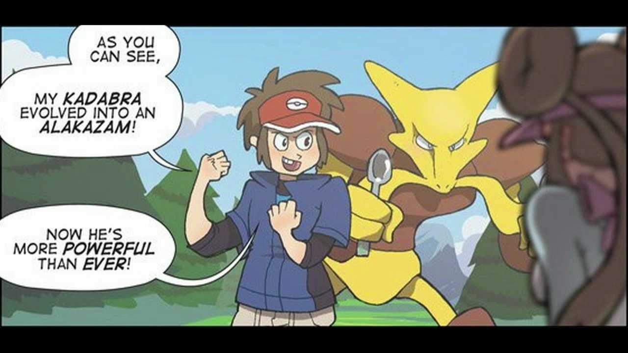 Comic Fandub Alakazam S Amazing Ability Youtube
