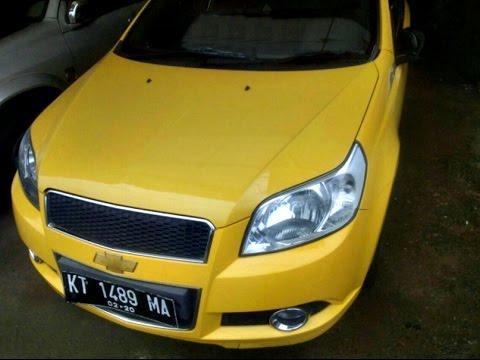 Dijual Mobil Chevrolet Aveo 2010 Kuning Manual Samarinda Hp