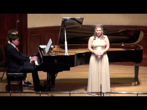 ANNA HUNTLEY - Ralph Vaughan Williams - Silent Noon from The House of Life