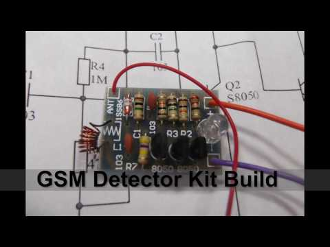 Kit Build - GSM Phone Signal Detector