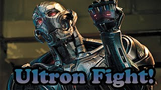 Marvel Super Hero Squad Online Ultron and Gold Ultron vs Ultron- 720p HD
