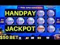 $50 Bet High Limit LIGHTNING LINK Slot Machine 🍀HANDPAY JACKPOT🍀 | Lock It Link Slot | Live Play