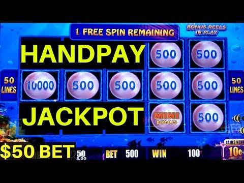 $50 Bet High Limit LIGHTNING LINK Slot Machine �HANDPAY JACKPOT�   Lock It Link Slot   Live Play