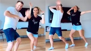 David Warner & Wife DANCE On Tamil Song During Lockdown