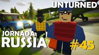 Unturned - Jornada Russia #45: Precisamos de Uma Base! (Ft. Dead)