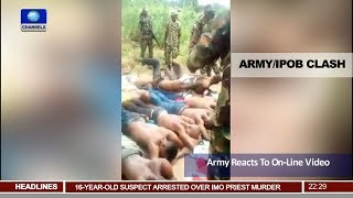 Army Reacts To Unverified Online Video Of Army-IPOB Clash Pt.2  News@10  13/09/17 thumbnail