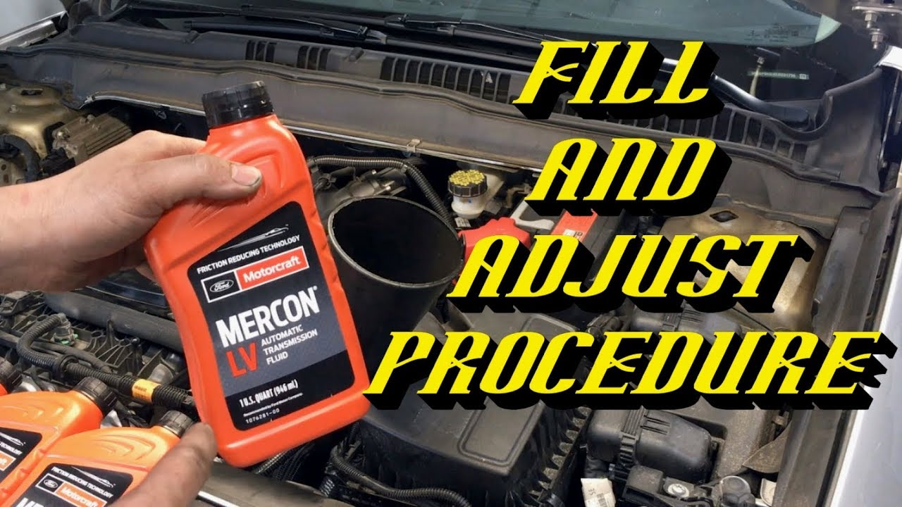 Automatic Transmission Fluid Change | Page 4 | 2013+ Ford