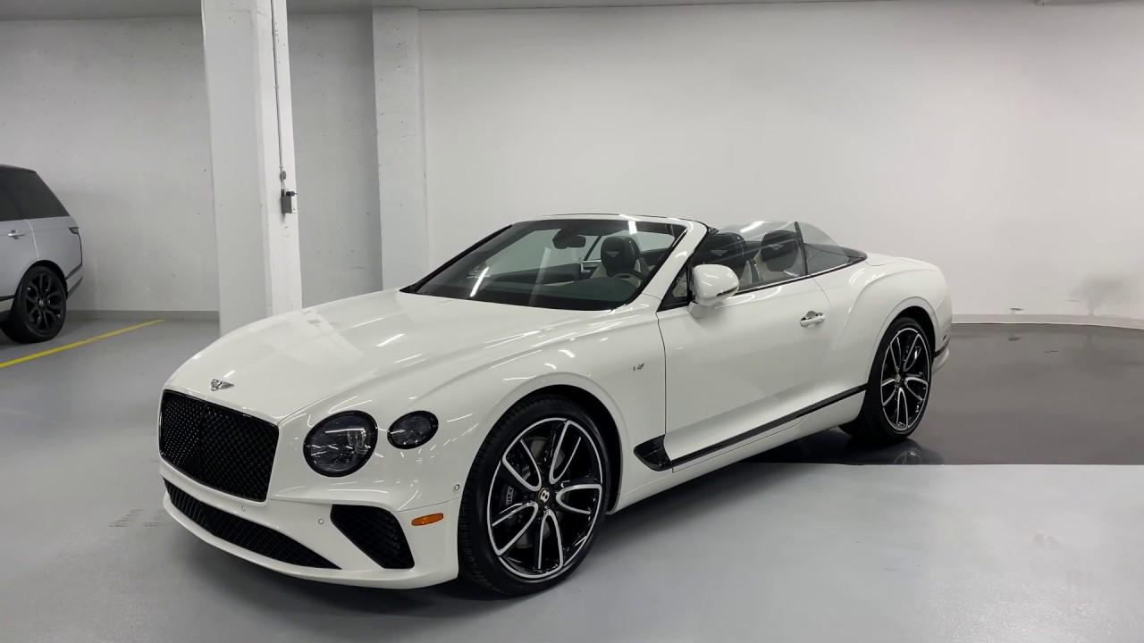 2020 Bentley Continental GT V8 Convertible - Revs + Walkaround 4k - YouTube