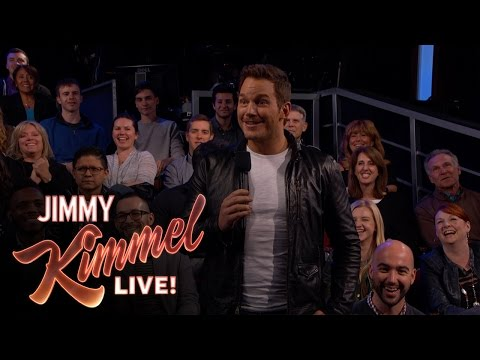 Thumbnail: Chris Pratt Surprises Kimmel Audience with New Trailer for Guardians of the Galaxy Vol. 2