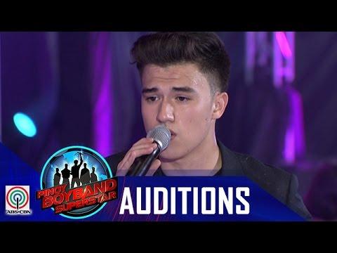 "Pinoy Boyband Superstar Judges' Auditions: Markus Paterson – ""Tadhana"""