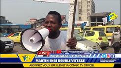 En Direct Kinshasa En Feu Résidence D'Aubin MINAKU Saccage Par La POPULATION Affrontement Na Police
