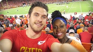 GOING IN LABOR DURING AN NFL GAME?!