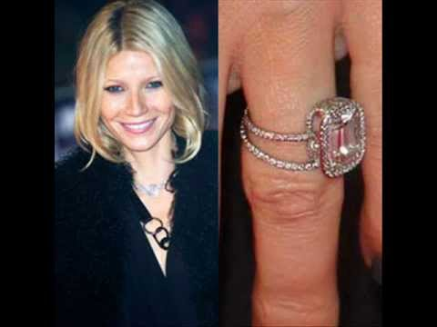 Celebrity Gwyneth Paltrow S Engagement Ring Youtube