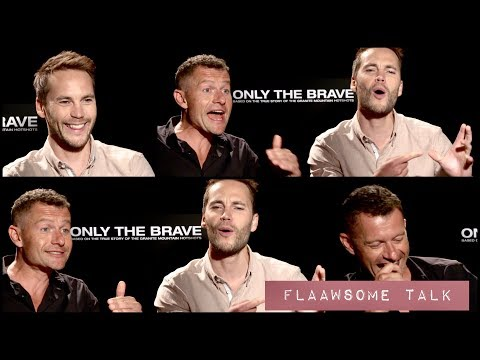 What Happens When You Take The Cell Phone From Taylor Kitsch And James Badge Dale...
