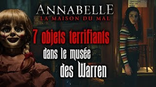 Annabelle 3 : 7 objets terrifiants du musée des Warren