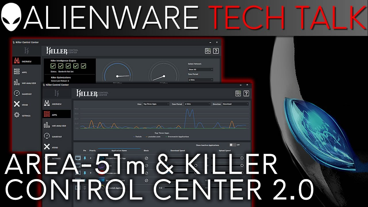 Alienware Area-51m: Killer Control Center 2 0 Walkthrough