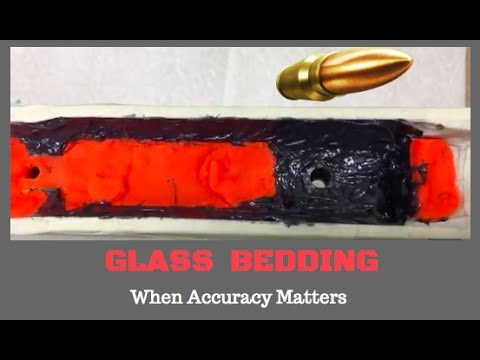 Savage Rifle Build, Glass Bedding the Action (pt 17)
