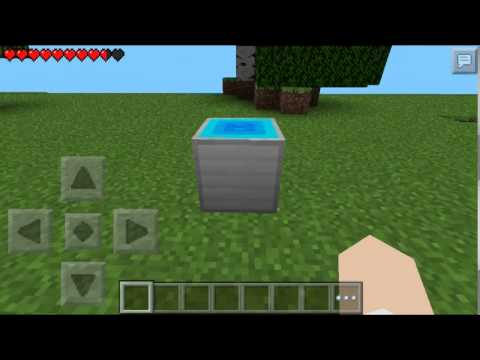 how to make a working toilet in minecraft pe