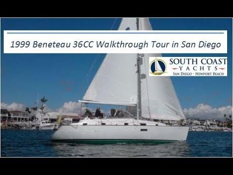 1999 Beneteau Oceanis 36 Center Cockpit For Sale Video Walkthrough Tour In San Diego