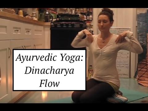 Ayurvedic Yoga Practice: Dinacharya Cleansing Flow - LauraGyoga