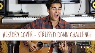 History by One Direction | Stripped Down Challenge | Alex Aiono Cover