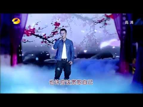 Yan Kuan singing on 天天向上 show 111014