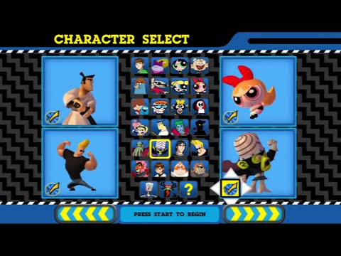 Cartoon Network Punch Time Explosion Xl All Characters Ps3 Youtube
