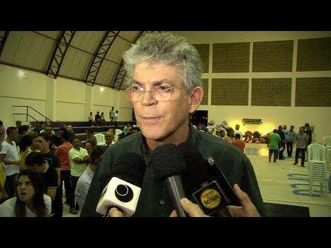 Entrevista do governador Ricardo Coutinho no Orçamento Democrático 2017. Sousa-PB.
