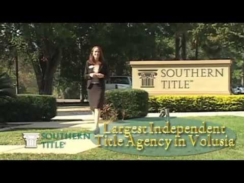 Southern Title Deltona Florida, Volusia County