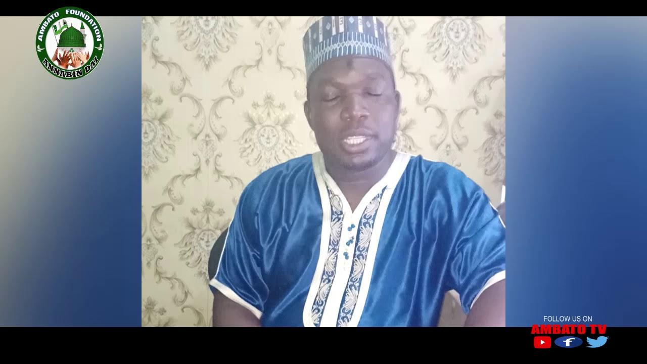 Download Sako na musamman daga bakin Shugaban cibiyar Ambato Sayyadi Muhammad Hafiz Abdallah