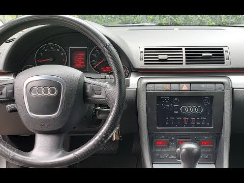 Nexus 7 Android Tablet  Installed In Dash Audi A4 B7