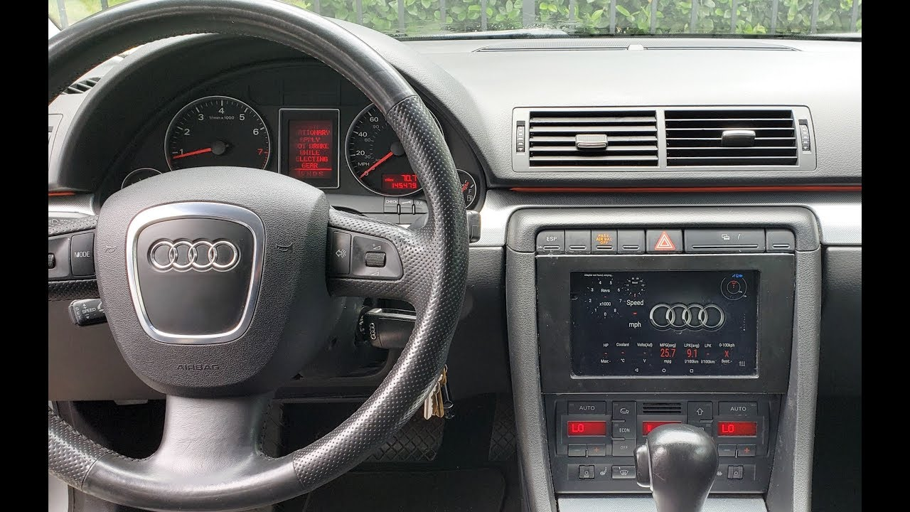 Nexus 7 Android Tablet Installed In Dash Audi A4 B7 Doovi