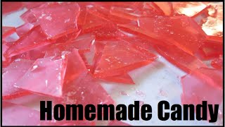 Homemade Hard Candy