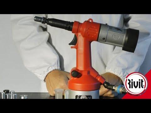 Rivit RIV912 (FRA) Sertisseuse Pour écrous De M3 à M12