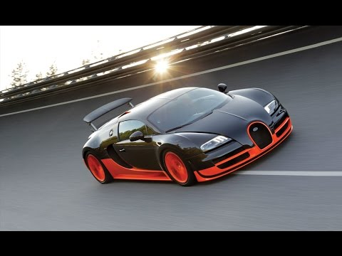 BUGATTI Veyron 16.4 SuperSport World Record