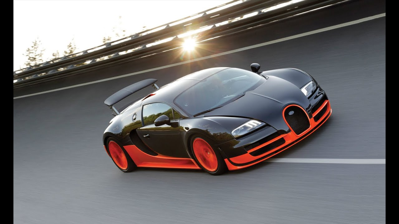 BUGATTI Veyron 16.4 SuperSport World Record - YouTube