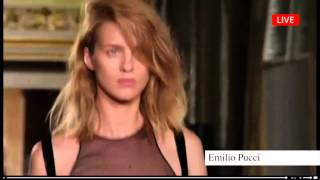 """EMILIO PUCCI"" Fashion Show Spring Summer 2014 MIlan by Fashion Channel"
