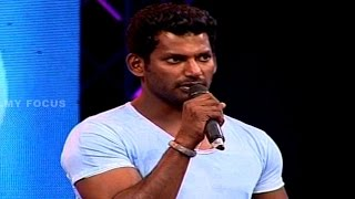 Vishal Speech at Pooja Movie Audio Launch || Vishal, Shruti Haasan