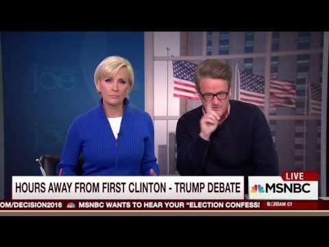 Mika Brzezinski Mocks Hillary Clinton Yelling on the Campaign Trail