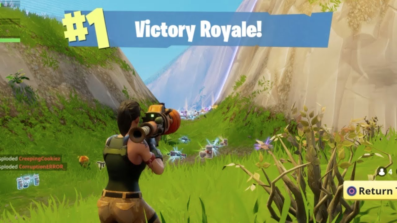 Fortnite First Place 1 Victory Royale Banner Sticker Ebay Fortnite