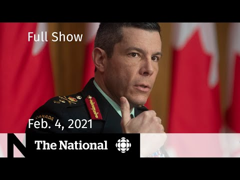 CBC News: The National | Vaccine supply disruptions continue; Vance allegations  | Feb. 4, 2021