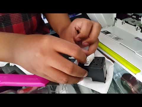 Cara Isi ulang tinta printer HP 2135.