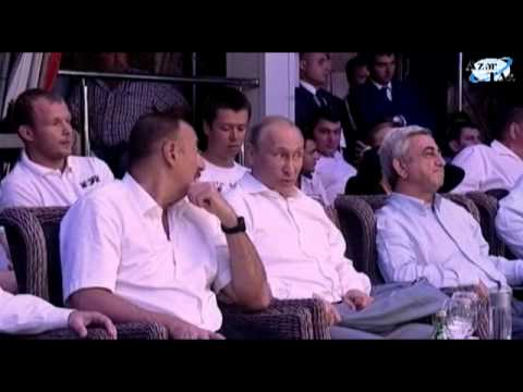 The Azerbaijani President Watched International Combat Sambo Championship In Sochi