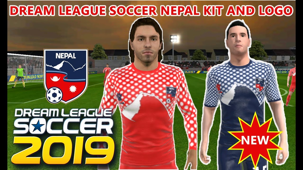 How To Import Nepal Kit And Logo In Dream League Soccer 2019 Nepal New Kit And Logo 100 Working Youtube