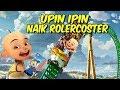 Upin ipin Naik Roller coaster Dufan Minecraft