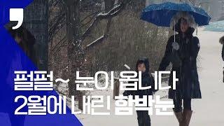 [영상스케치] 2월에  내리는 함박눈