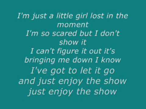 The Show - Lenka (Lyrics)