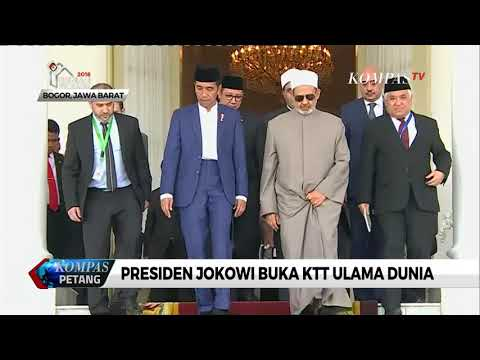 Jokowi Buka KTT Ulama Dunia